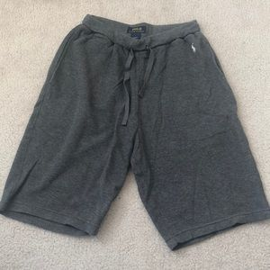 Ralph Lauren Dark Grey Sweat Shorts
